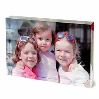 acrylic photo block print