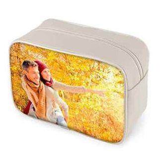 personalised photo wash bag