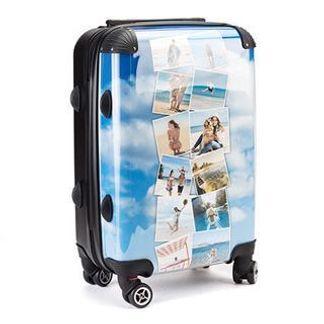 Personalised suitcase custom printed