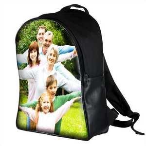 mochila con fotos