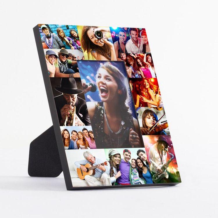 Cadre imprimé avec montage photos
