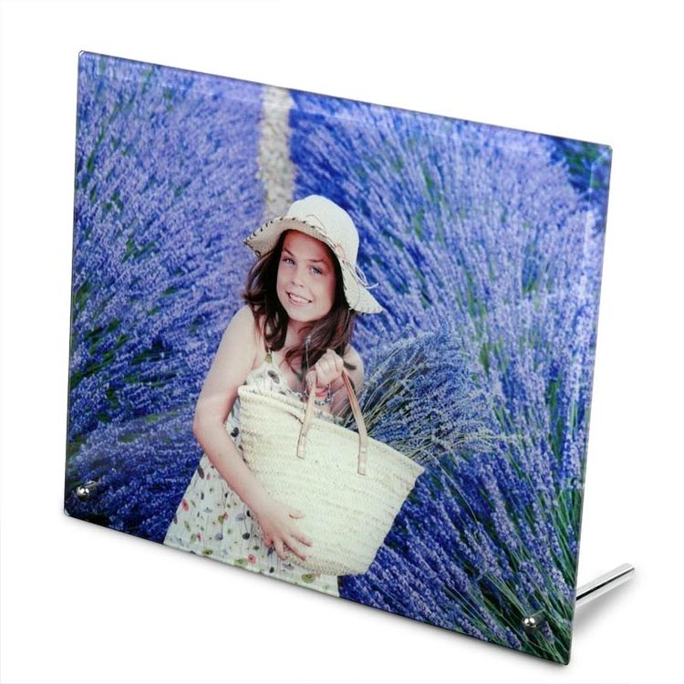 printed photo glass frame