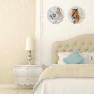 Paredes decoradas con fotos dise a tapices papel de pared - Platos decorativos pared ...