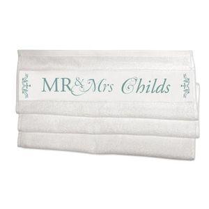 Asciugamani con nome