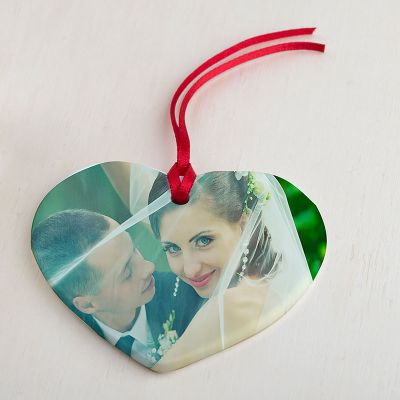 personalised Wedding Ornaments