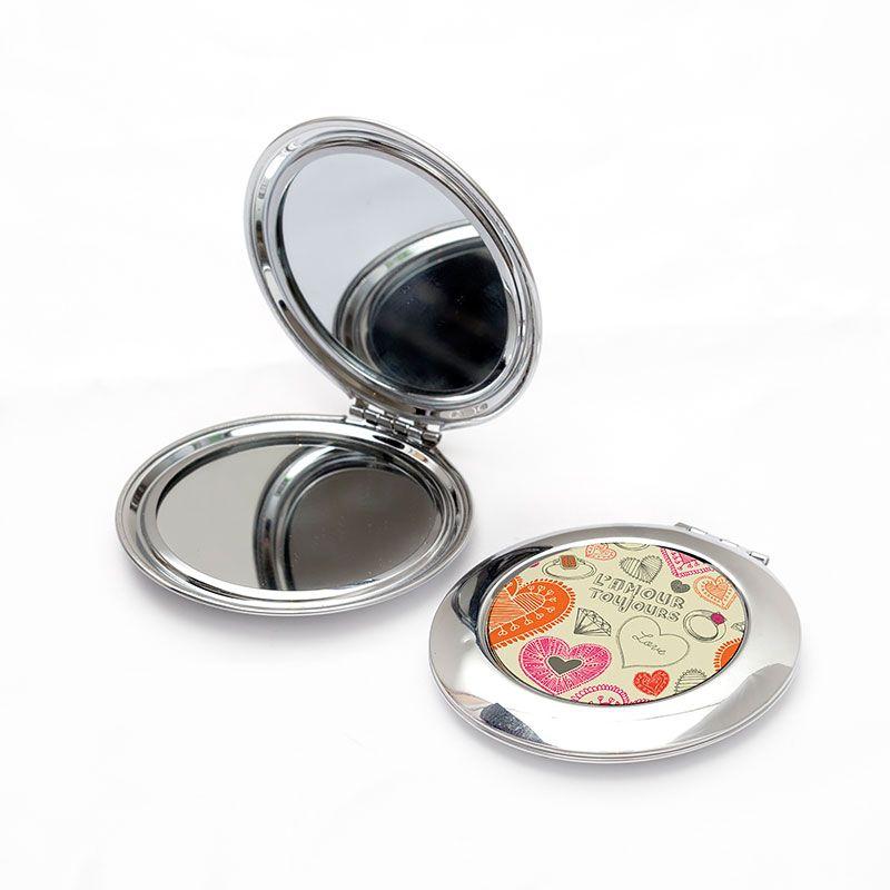 Impression sur miroir avec votre design