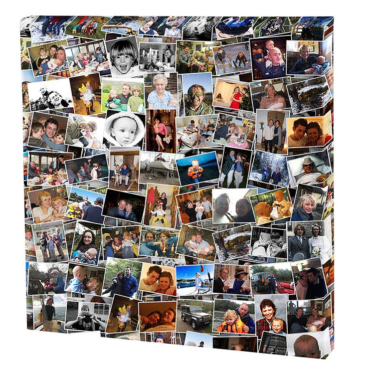 gepersonaliseerd canvas met foto's