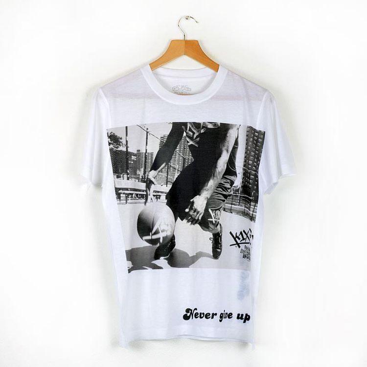 white tshirt personalised