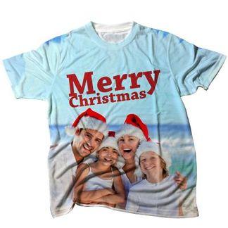 Christmas Photo T-Shirt For Him