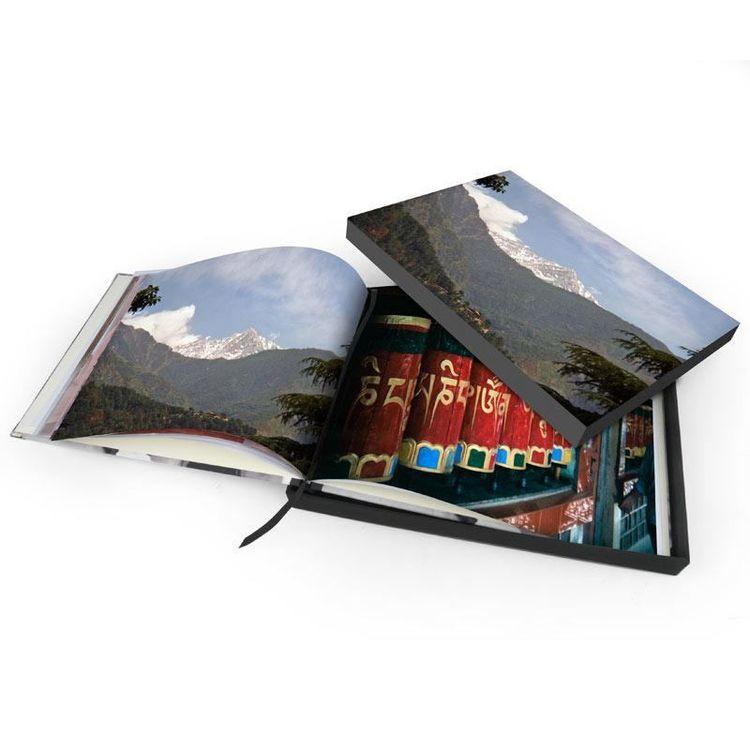 Personlig låda för fotobok