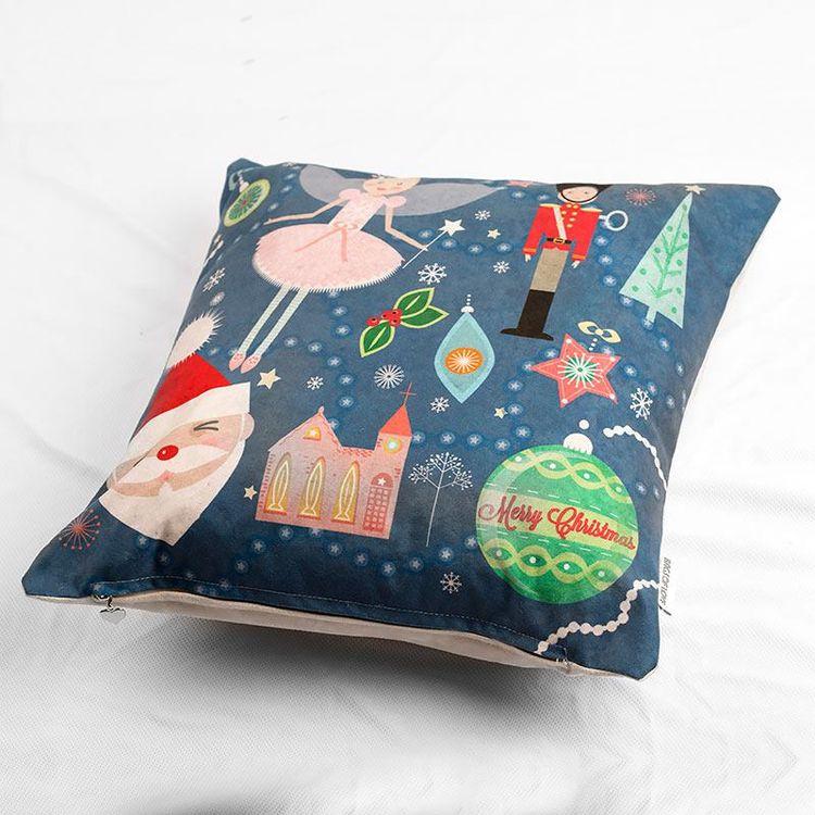 cojines navideños personalizados