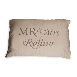 wedding gift pillowcases