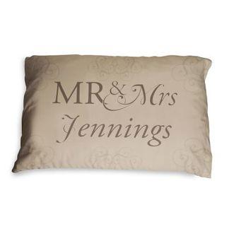 Mr & Mrs 2nd Anniversary Pillowcases