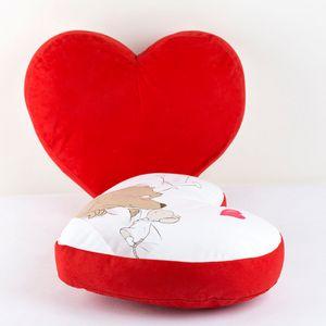 Cuscino cuore personalizzato per lui