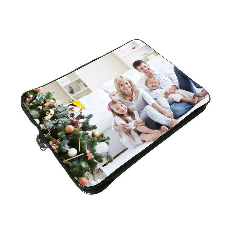 personalised laptop case christmas