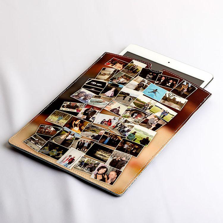 Personalized Leather iPad Mini Case