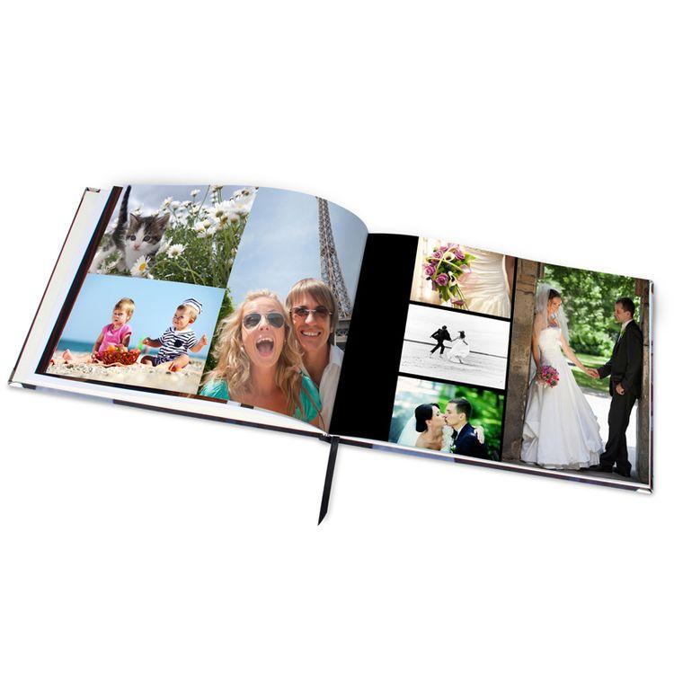 persönliches fotobuch querformat