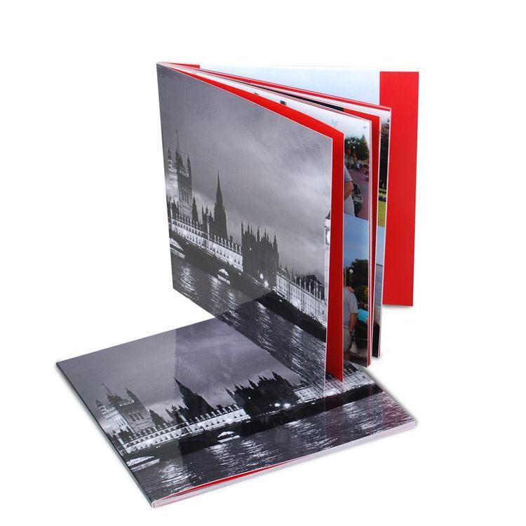 Svartvit fotobok fyrkant