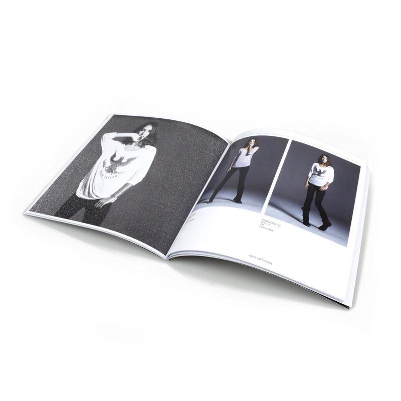 custom lookbook printing
