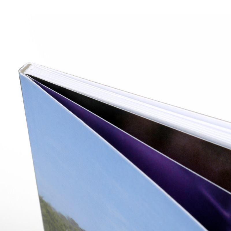 square photo book printing close up
