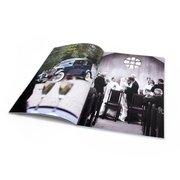 custom printed soft A4 photobook