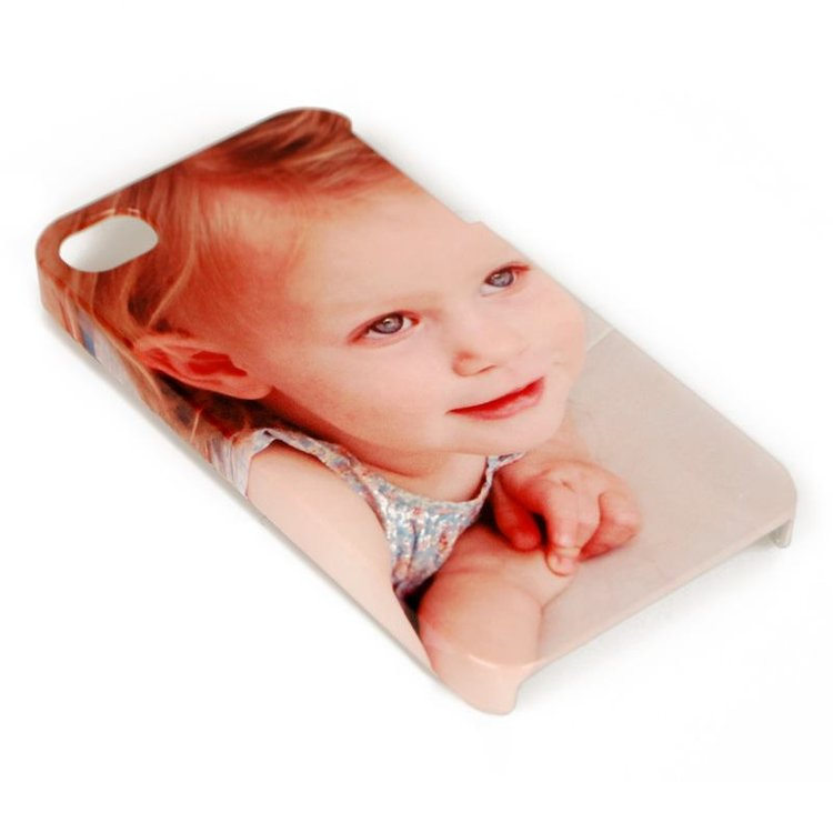 family photo personalised iphone 4 case