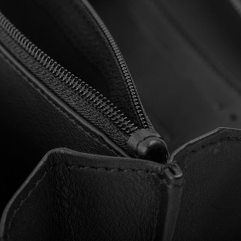 inside custom leather purses