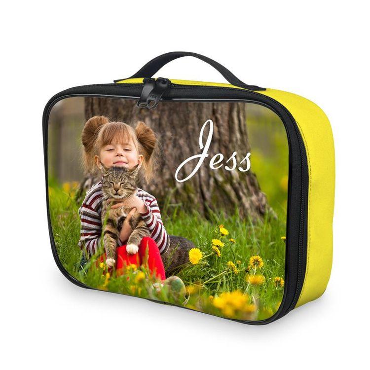 lunch tas met foto en afbeelding
