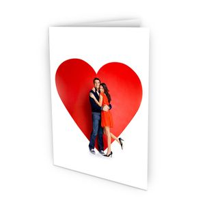 biglietto san valentino con foto