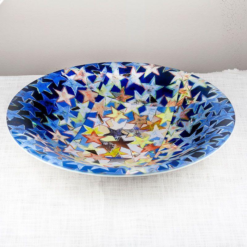 Vaisselle personnalisée avec un design étoilé