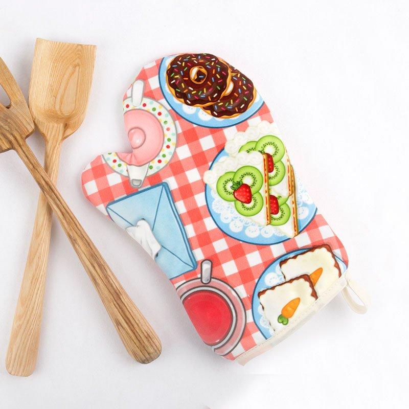 Gant de cuisine personnalisé avec design amusant