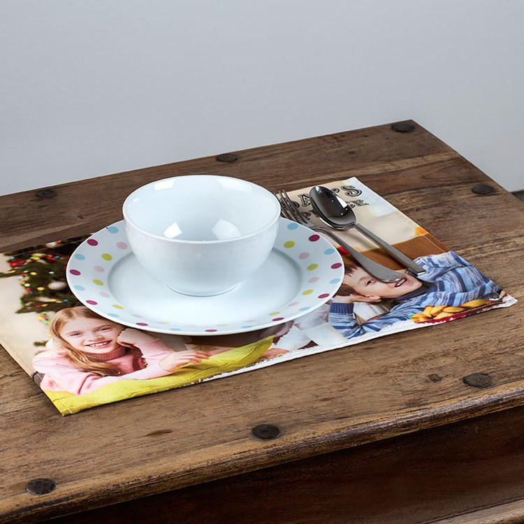 Set de table personnalis en tissu sets de table en tissu Set de table photo
