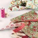 impression sur échantillons de tissu