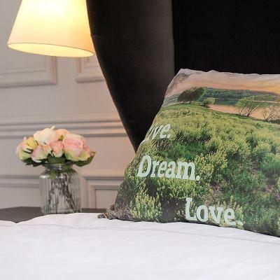 photo montage pillow case
