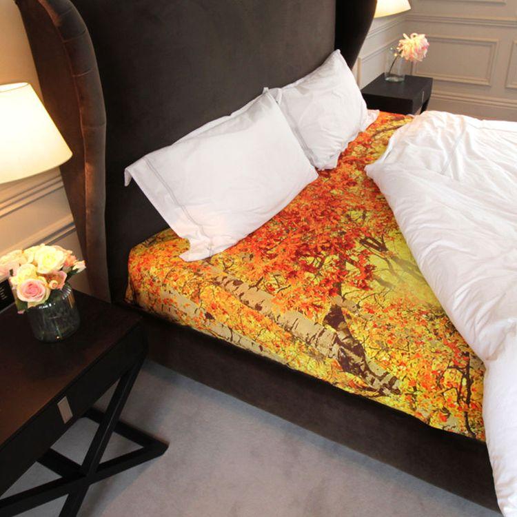 个性床单及配套被子和枕头