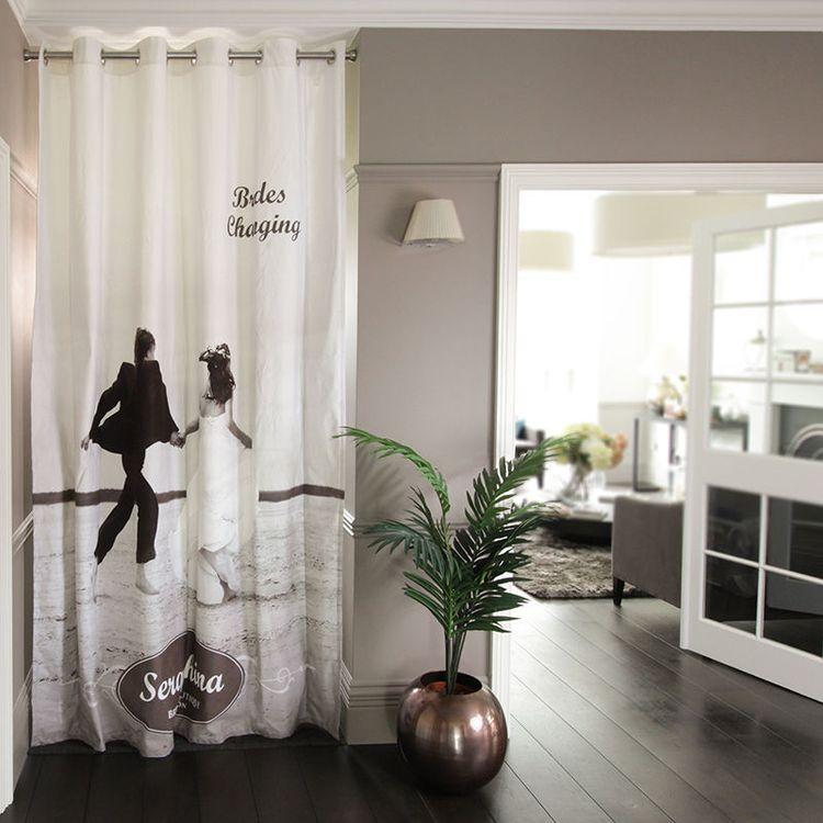 custom door curtains