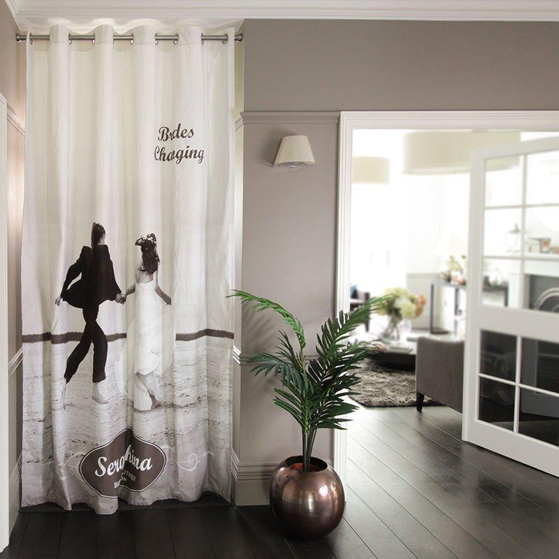 fotovorhang gestalten vorhang mit fotodruck bedrucken lassen. Black Bedroom Furniture Sets. Home Design Ideas