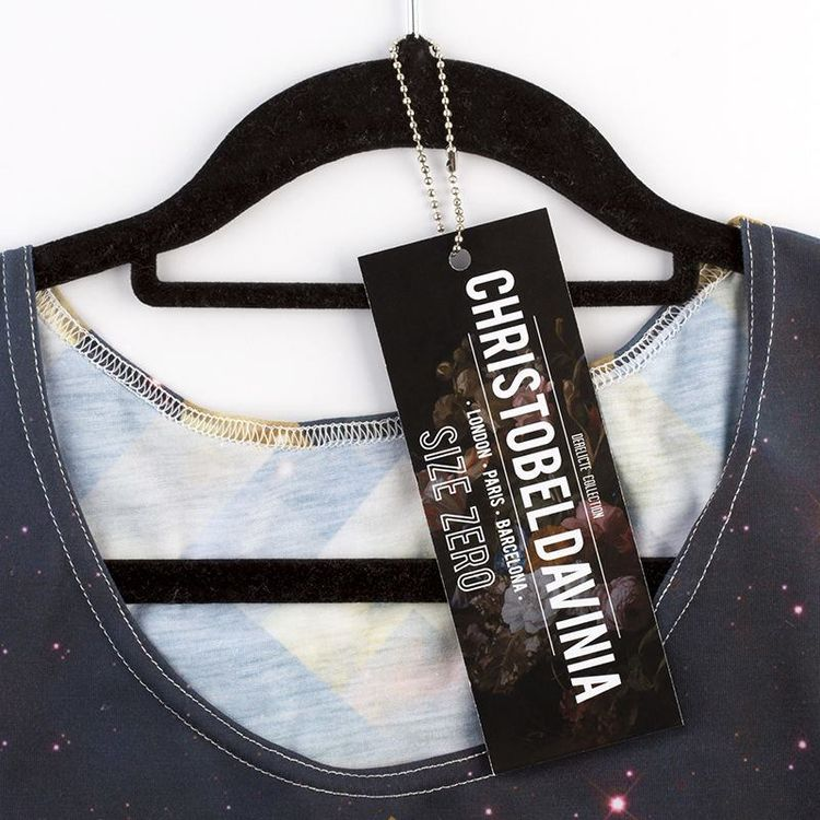 cartellini abbigliamento personalizzato