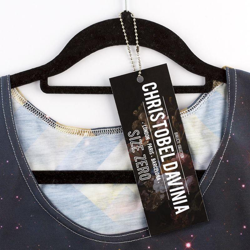 etiquetas colgantes para ropa