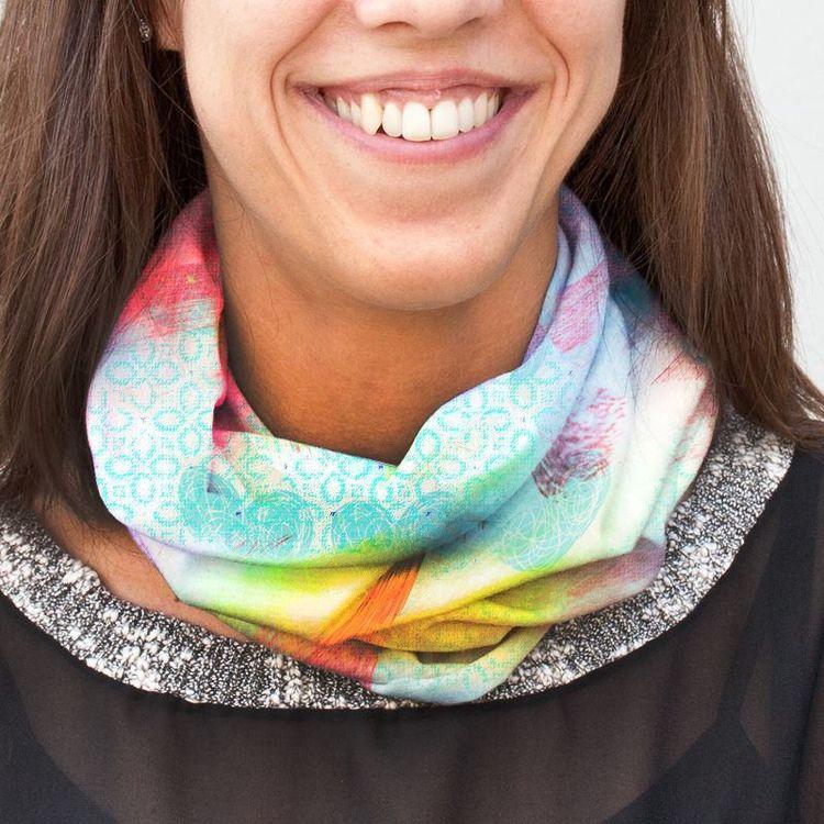 veelzijdige infinity sjaal