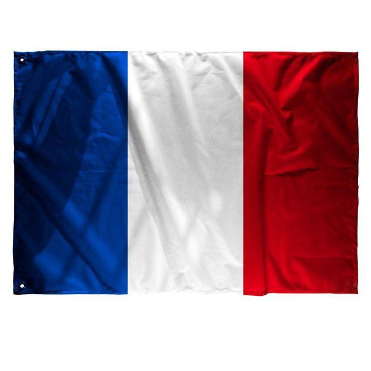 drapeau personnalisé France