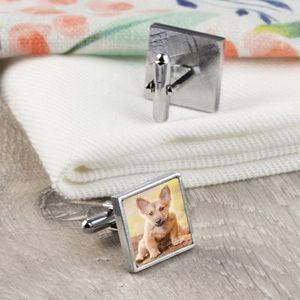 Cufflinks with Photos