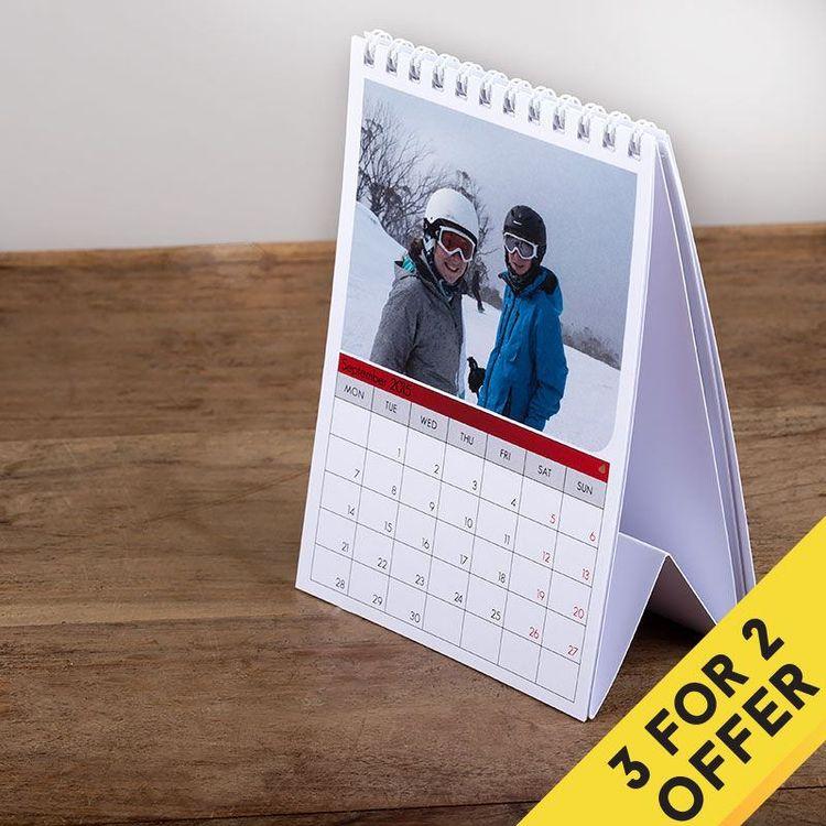 gepersonaliseerde kalender 2018