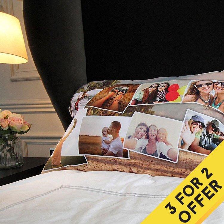 Design Your Own Pillowcase Beauteous Custom Pillow Cases With Photos Print Photos On Pillow Cases