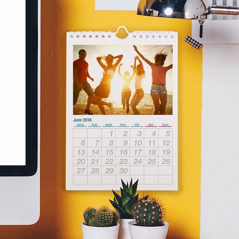 printed calendars a5 photo wall calendars 2019 by bags of love