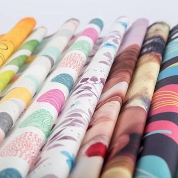 stampa su cotone lima