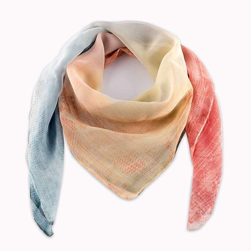 4043ca7d364 ... impression sur foulard Foulard personnalisable soie ...