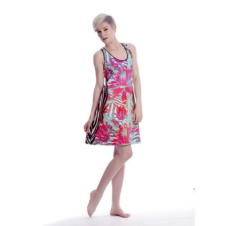 Printed Vest Dress