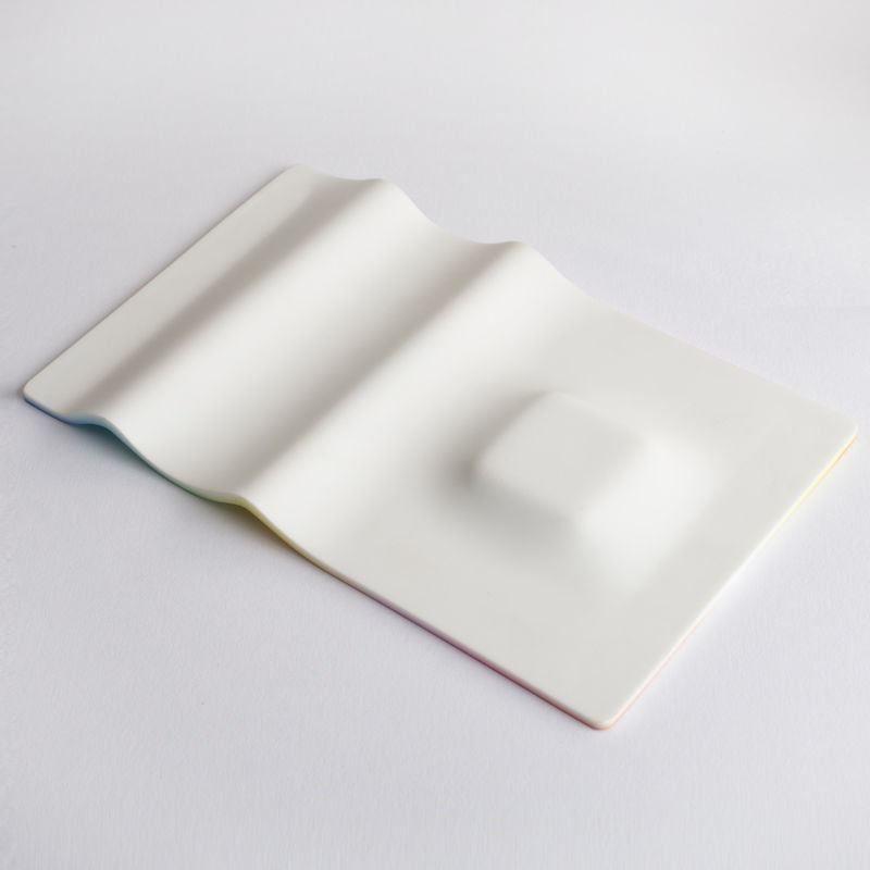 reverse of the pen tray