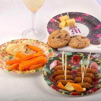 platos de fiesta plástico